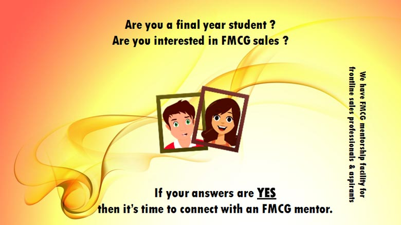 Attention - Sales Officer /Sales Executive from FMCG industry